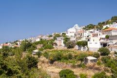 Kallithea on Samos Royalty Free Stock Photo
