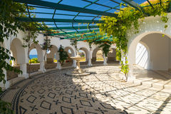 Kallithea Springs on the Island of Rhodes Royalty Free Stock Images