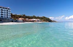 Halkidiki summer resort in Greece Stock Photos