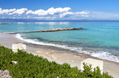 Halkidiki summer resort in Greece Royalty Free Stock Photography