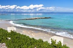 Halkidiki summer resort in Greece Royalty Free Stock Photography