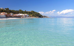 Halkidiki summer resort in Greece Royalty Free Stock Image