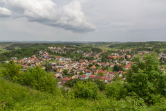 Kallmünz in spring Royalty Free Stock Photos