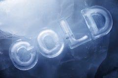 kallt Arkivbild