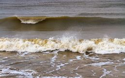 Kallt baltiskt hav Royaltyfri Foto