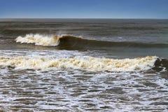 Kallt baltiskt hav Arkivbild