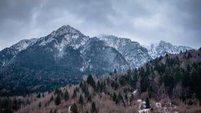 Kallt berg Arkivbilder