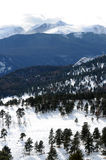 Kallt berg - Verticle Royaltyfria Foton