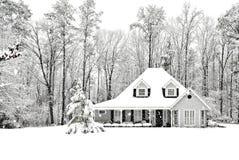 kallt frostigt Arkivfoto