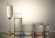 kallt glass vatten Royaltyfri Foto