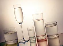 kallt glass vatten Royaltyfri Bild