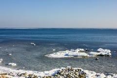 Kallt hav i norden arkivbilder