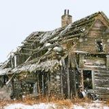 Kallt hus Arkivbilder