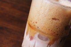 Kallt kaffe arkivbild