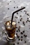 Kallt kaffe - sommardrink royaltyfri fotografi