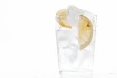 Kallt sodavattenexponeringsglas Arkivfoto
