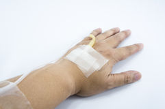Kallt vård- begrepp för sömnig sjuk kvinnamaskeringsinfluensa Arkivfoton