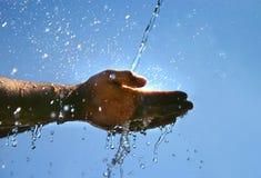 kallt vatten Royaltyfri Fotografi