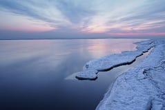 kallt vatten Royaltyfria Foton