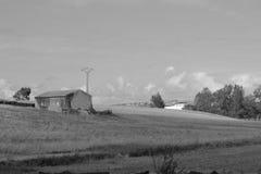 Kalm dorp royalty-vrije stock fotografie