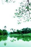 Kalm en het Ontspannen Park stock foto