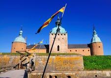 Kalmar城堡,瑞典 免版税图库摄影
