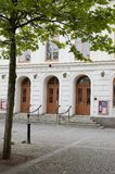 kalmar方形瑞典剧院结构树 免版税库存图片