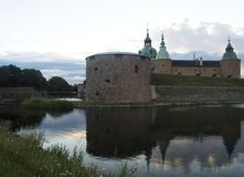 kalmar的城堡 库存图片