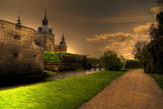 kalmar的城堡 库存照片