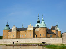 The Kalmar castle Royalty Free Stock Images