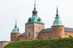 Kalmar castle Stock Photo