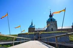 Kalmar castle entrance Stock Image