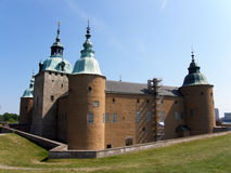 The Kalmar castle II Stock Images