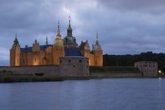 Kalmar Castle - Smaland in Sweden Stock Image
