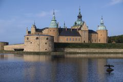 Kalmar Castle - Smaland in Sweden Royalty Free Stock Images