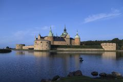 Kalmar Castle - Smaland - Sweden Royalty Free Stock Images