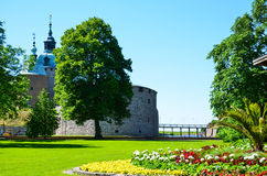 Kalmar castle view Stock Photography
