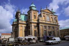 Kalmar cathedral in Sweden Royalty Free Stock Photos