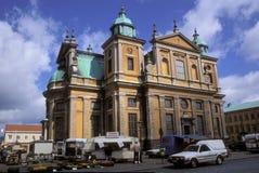 Kalmar domkyrka i Sverige Royaltyfria Foton