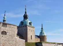 Kalmar i Sverige Arkivfoton