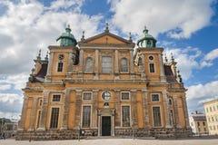 Kalmar-Kathedrale in Südost-Schweden Lizenzfreie Stockfotografie