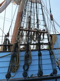 Kalmar Nyckel. Delaware's Tall ship based at the Lewes Ferry port to Cape May, New Jersey, USA Stock Photography