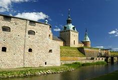 Kalmar's castle fortifications Stock Image