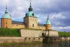 Kalmar Schloss Lizenzfreies Stockfoto