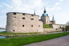 Kalmar-Schloss Lizenzfreies Stockfoto