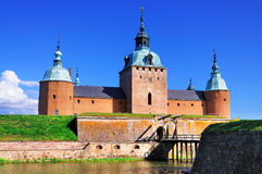 Kalmar Schloss, Schweden Lizenzfreie Stockfotografie