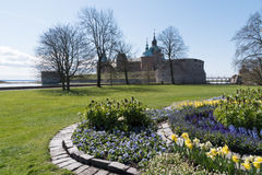 Kalmar slott på vår Royaltyfria Foton