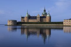 Kalmar slott - Smaland i Sverige Royaltyfria Foton