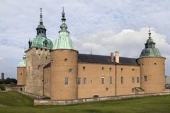 Kalmar slott - Smaland - Sverige Arkivfoton