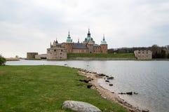 Kalmar slott vid havet Royaltyfria Foton